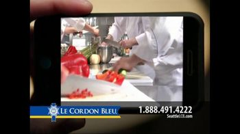Le Cordon Bleu TV Spot For Text Message To Cook - Thumbnail 3