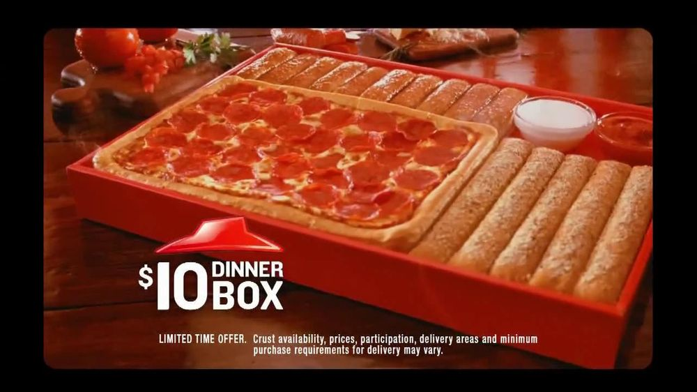 Pizza Hut TV Commercial For 10 Dinner Box