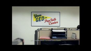 YourGED.org TV Spot For GED PepTalks - Thumbnail 1