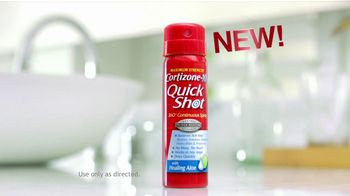 Cortizone 10 TV Spot For Quick Shot Spray