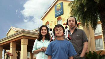 Choice Hotels TV Spot, 'Two Stays Pays: Earmuffs' - 2 commercial airings
