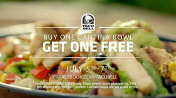 Taco Bell Cantina Bowl TV Spot, 'Buy One, Get One Free' - Thumbnail 7