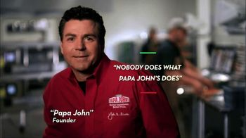 Papa John's TV Spot, 'Nobody Does What Papa John's Does' - Thumbnail 1