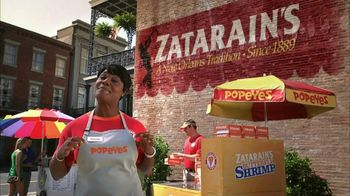 Popeyes TV Spot, 'Zatarain's Butterfly Shrimp'