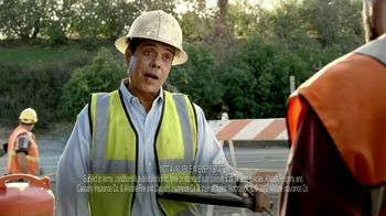 Allstate TV Spot, 'Construction Guys Allstate Voice Over' - Thumbnail 3