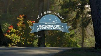 Hyundai TV Spot, 'National Fuel-Efficiency Month' - Thumbnail 8