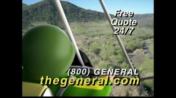 The General TV Spot, 'Flying into Low Savings' - 1014 commercial airings
