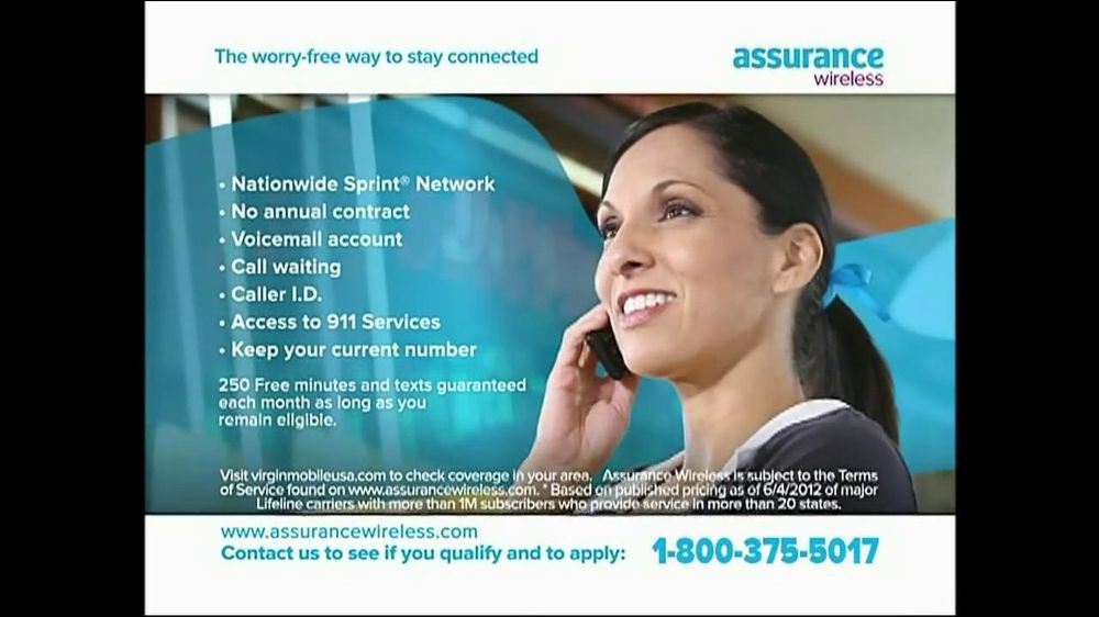 Assurance Wireless Tv Commercial Free Talk And Text Ispot Tv