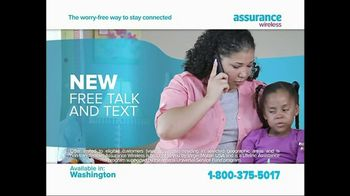 Assurance Wireless TV Spot, 'Free Talk and Text' - Thumbnail 1