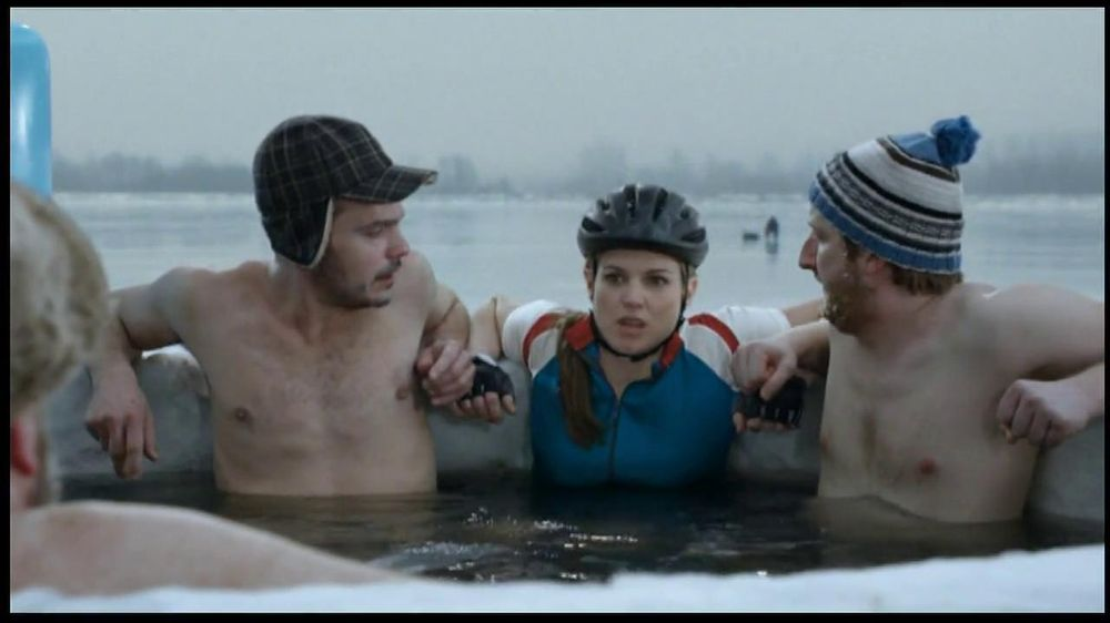 BENGAY Zero Degrees TV Commercial, 'Annual Polar Dip'