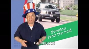 CarHop Auto Sales & Finance TV Spot, 'Fourth of July: Freedom From the Bus'
