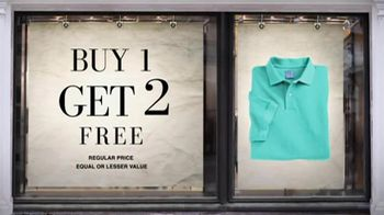 JoS. A. Bank TV Spot For Buy 1 Get 2 Free - 3 commercial airings