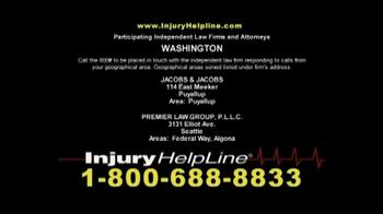 Injury Helpline TV Spot, 'Injury Claim' - Thumbnail 6