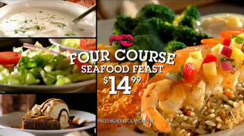 Red Lobster TV Spot For Four-Course Seafood Feast With $10 Off Coupon - Thumbnail 2