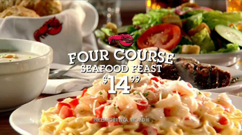 Red Lobster TV Spot For Four-Course Seafood Feast With $10 Off Coupon - Thumbnail 5