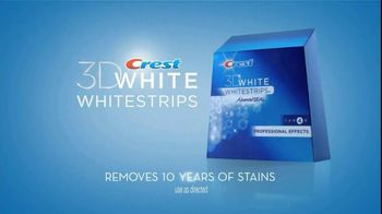 Crest 3D White Whitestrips TV Spot, 'Yellowed' - 1155 commercial airings