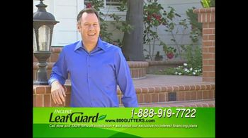 Englert Leaf Guard TV Spot For Gutter Cleaning
