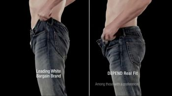 Depends TV Spot For Real Fit Featuring Pro Football Players - Thumbnail 8