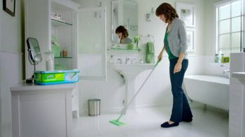 Swiffer Sweeper TV Spot, 'Green Face Mask' - Thumbnail 1