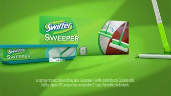 Swiffer Sweeper TV Spot, 'Green Face Mask' - Thumbnail 9