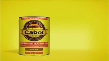 Cabot Wood Stains TV Spot, 'Green Thumb' - Thumbnail 5