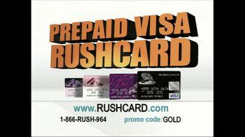 VISA TV Spot For Prepaid Rushcard