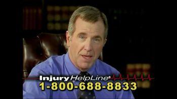 Injury Helpline TV Spot, 'Accidents'
