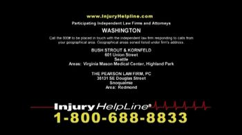 Injury Helpline TV Spot, 'Accidents' - Thumbnail 8