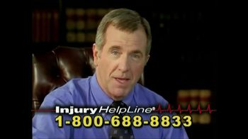 Injury Helpline TV Spot, 'Accidents'