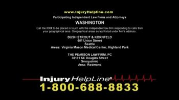 Injury Helpline TV Spot, 'Accidents' - Thumbnail 7