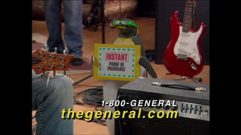 The General TV Spot, 'Rock Band Ricky' - 59 commercial airings