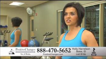 Positive Changes TV Spot For Holly's Testimonial - Thumbnail 5