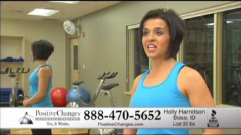 Positive Changes TV Spot For Holly's Testimonial - Thumbnail 7