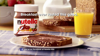 Nutella TV Spot, 'Breakfast Time' - 612 commercial airings