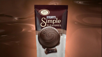 Hershey's Simple Pleasures TV Spot, 'Less Fat' - Thumbnail 1
