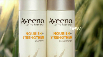 Aveeno Nourish+Strengthen TV Spot - Thumbnail 3