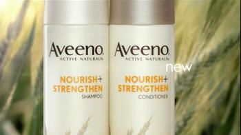 Aveeno Nourish+Strengthen TV Spot - Thumbnail 4