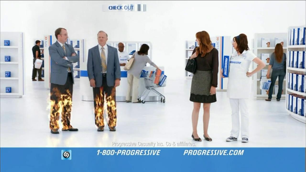Progressive Tv Commercial For Direct Rate Comparison No Mas Pantalones Ispot Tv