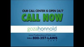 Goza Honnold Trial Lawyers TV Spot For Pradaxa Alert - Thumbnail 10