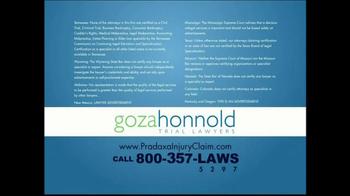 Goza Honnold Trial Lawyers TV Spot For Pradaxa Alert - Thumbnail 8