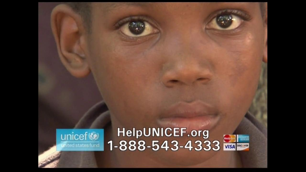 UNICEF/TAP Project TV Commercial For UNICEF Featuring Alyssa Milano