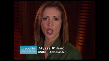 UNICEF/TAP Project TV Spot For UNICEF Featuring Alyssa Milano - Thumbnail 1