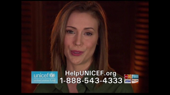 UNICEF/TAP Project TV Spot For UNICEF Featuring Alyssa Milano - Thumbnail 10