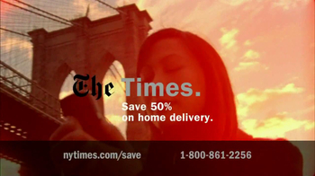 New York Times TV Spot For The Perks Of Joining - Thumbnail 10