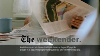 New York Times TV Spot For The Perks Of Joining - Thumbnail 3