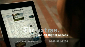 New York Times TV Spot For The Perks Of Joining - Thumbnail 5