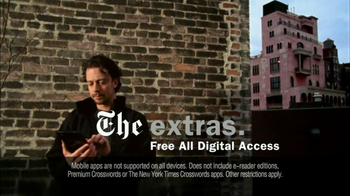 New York Times TV Spot For The Perks Of Joining - Thumbnail 6