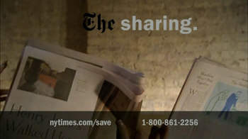 New York Times TV Spot For The Perks Of Joining - Thumbnail 9