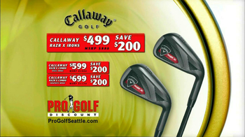 Pro Golf Discount TV Spot For Irons