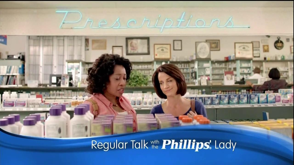 Phillips Relief TV Commercial, 'Regular Talk'